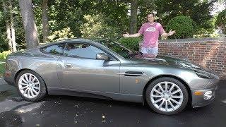 Подержанный Aston Martin Vanquish - это выгодная покупка за $85 000