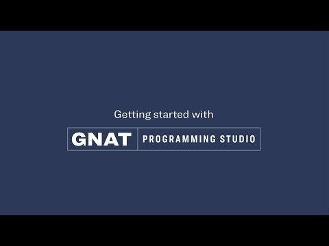 Getting started with GNAT Programming Studio