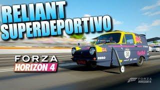 Este Reliant CORRE MÁS que muchos SUPERDEPORTIVOS - Forza Horizon 4