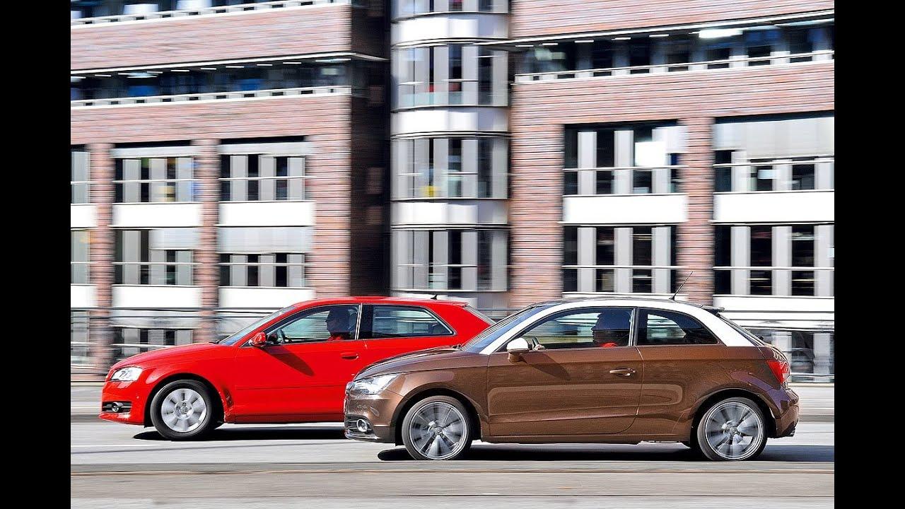 Audi A1 gegen Audi A3 - Wer ist besser? - YouTube