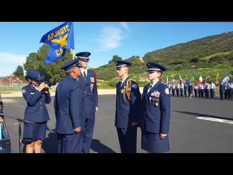 TVHS JROTC CA- 933 Change of Command 3/2/17