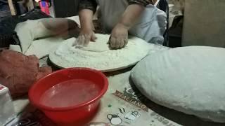 Как делают таджикские лепешки Чапоти (Чапати)