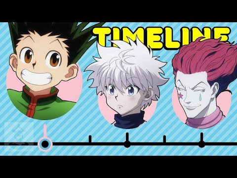 The Complete Hunter X Hunter Timeline... So Far | Get In The Robot