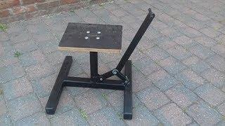 Home Made Dirtbike stand DIY