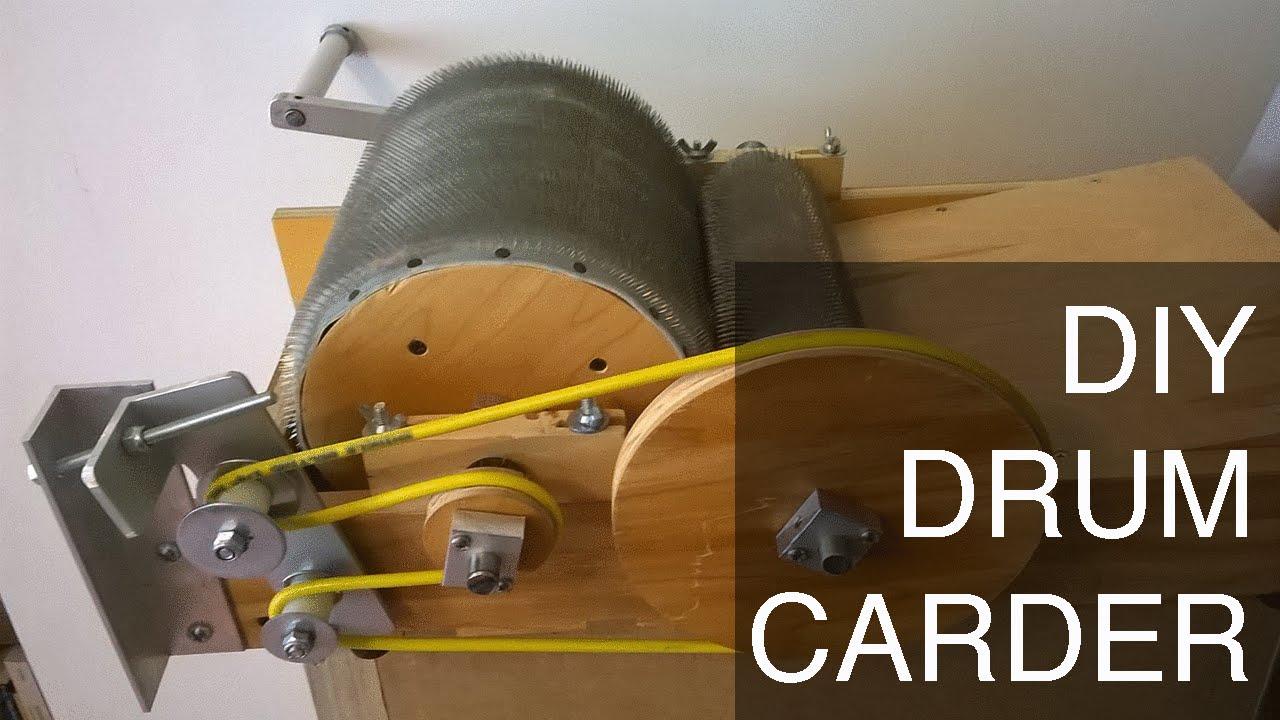 Diy Drum Carder Full Plans On Etsy Youtube