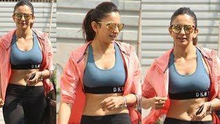 Rakul Preet Singh Gym Workout Outfit Latest | Filmy Monk
