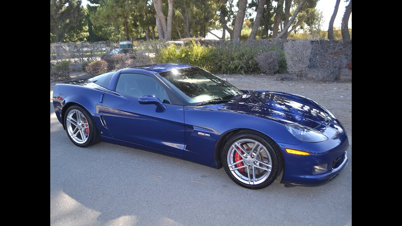SOLD 2007 Chevrolet Corvette ZO6 Coupe for sale by ...