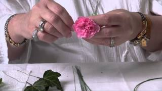 DIY How to Make a Flower Girl Crown