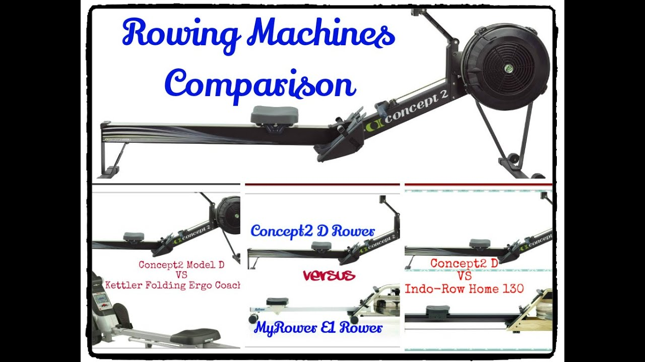 concept2 d rower review comparison between concept2 d rower versus other rowing machines youtube. Black Bedroom Furniture Sets. Home Design Ideas