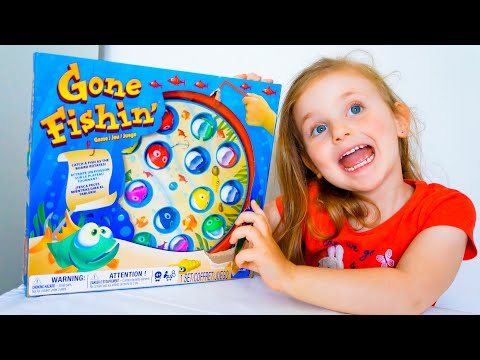 How To Play Gone Fishing Game // Fishing Game For Kids // Toy Unboxing // Must Watch!