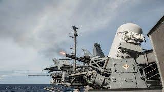 Nếu Trung Quốc bắn cùng lúc 600 quả đạn, nhóm tàu sân bay Mỹ có đỡ nổi không?