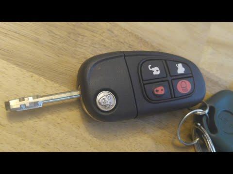 Jaguar X-Type S-Type Key Fob Battery Replacement – DIY