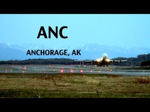(ANC) Anchorage ALASKA International Airport
