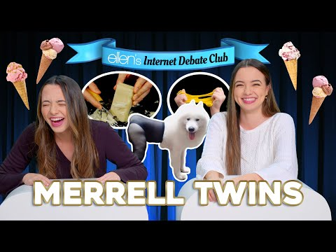 The Merrell Twins Debate What's Better: TikTok or Vine?