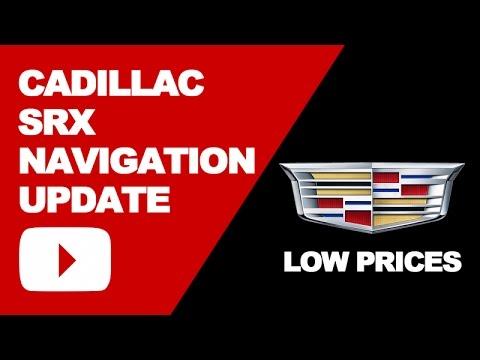 Cadillac SRX Navigation Update DVD 2017: Low Price Updates ...