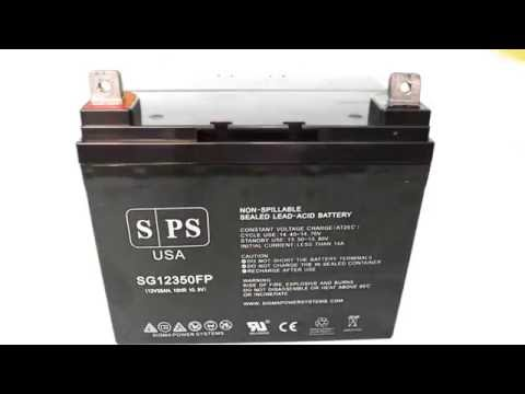 12V 35Ah SLA AGM Wheelchair Battery Overview - Sigma Power Systems