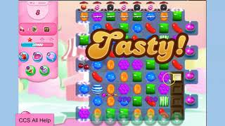 Candy Crush Saga Level 5943 NO BOOSTERS Cookie