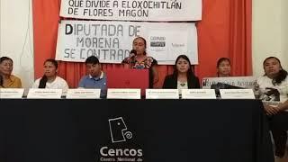 Rueda de Prensa en CENCOS 13/08/19 Presos Políticos Eloxochitlán, Oaxaca