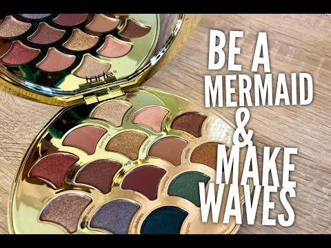 Tarte Be A Mermaid & Make Waves Palette Demo, Swatches & First Impressions