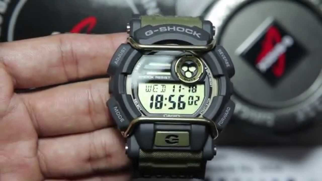 new style c5832 fdcf0 Casio G-shock GD-400-9
