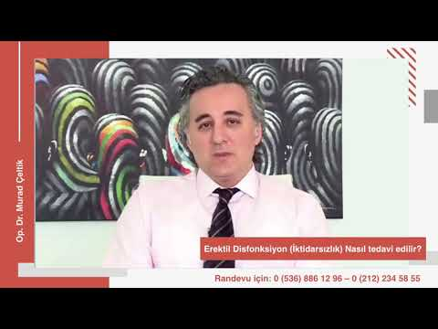 Erektil disfonksiyon nasıl tedavi edilir? I Op. Dr. Murad Çeltik