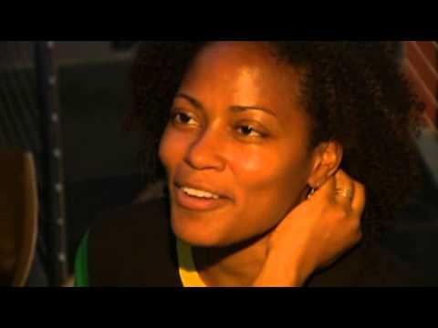 JAMAICA CELEBRATES USAIN BOLT'S 100M WIN - BBC WORLD NEWS