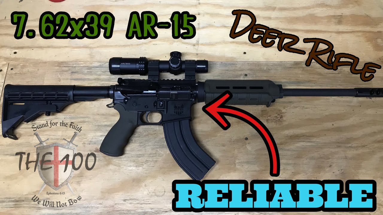 Building A Budget 7 62x39 Ar 15 Deer Rifle That Works Youtube