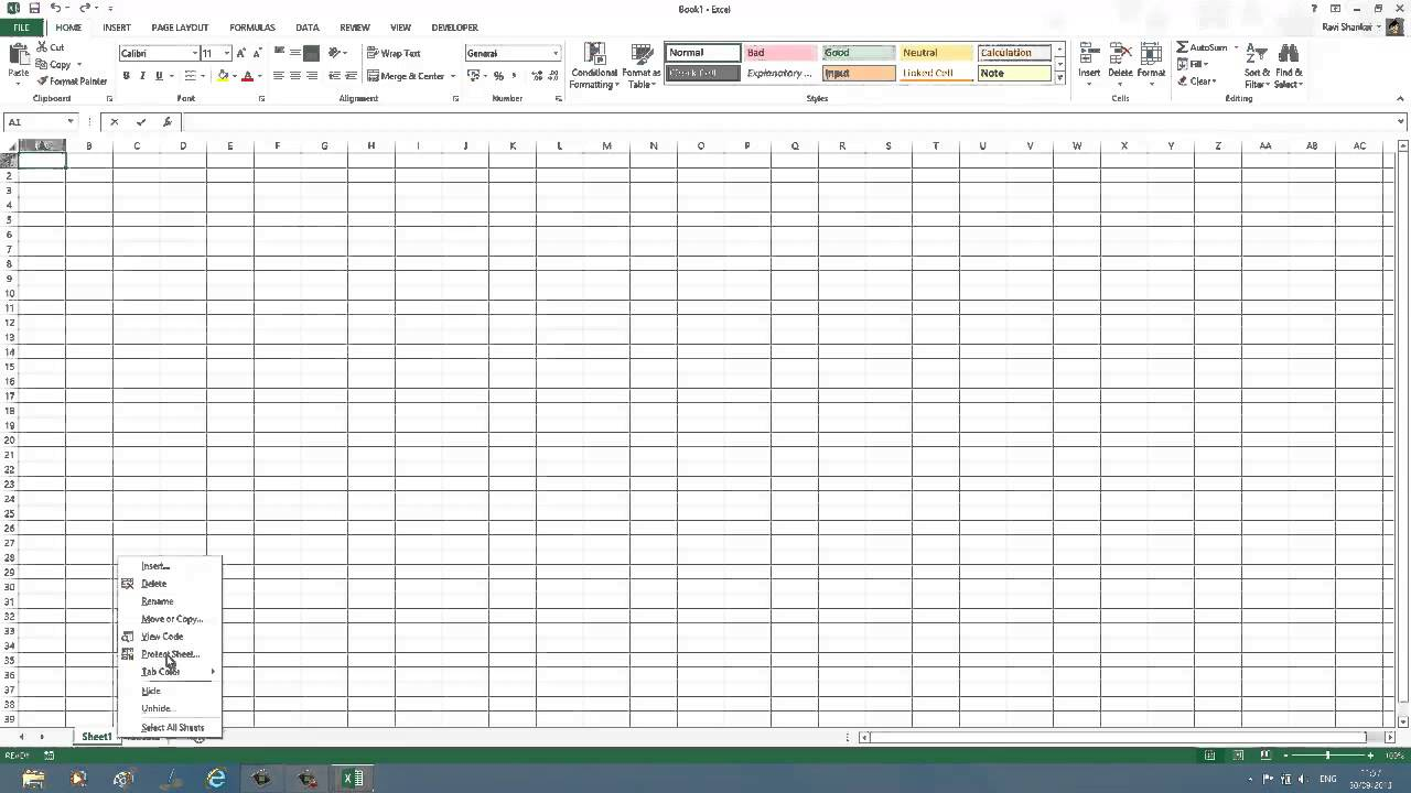 Coloring sheet tabs in excel - Coloring Sheet Tabs In Excel 19