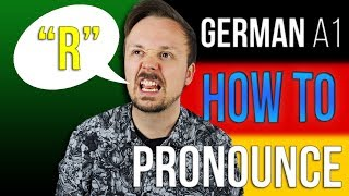 How To Pronounce The German R | A Get Germanized A1-C2 German Lesson