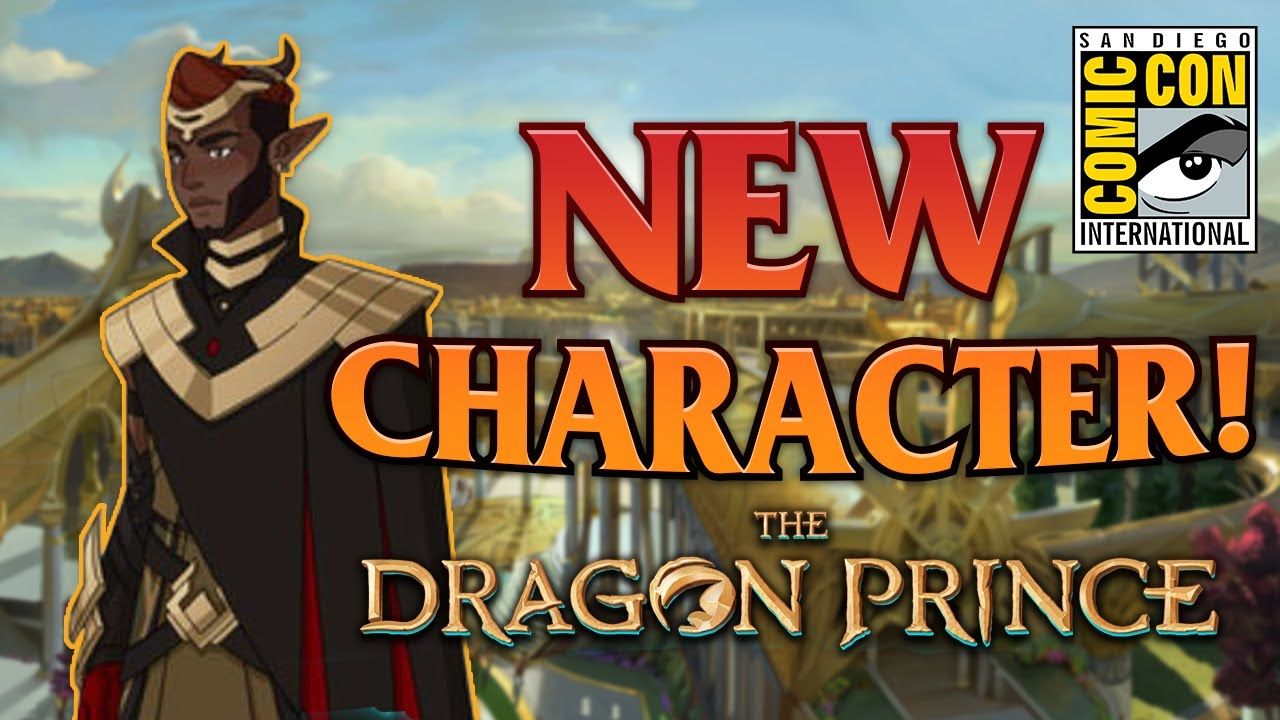 NEW Dragon Prince Season 4 Character Revealed + More at SDCC 2021! - Interview with the Creators