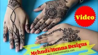 Mehndi Designs Ideas for Girls on Eid