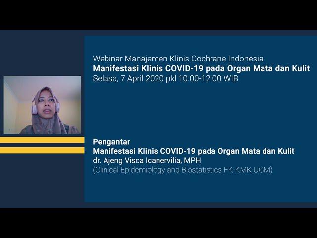 Pengantar Manifestasi Klinis COVID 19 pada Organ Mata dan Kulit