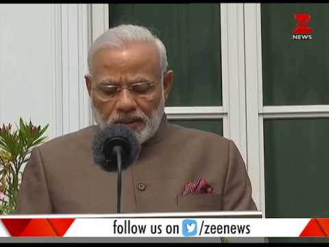 PM Narendra Modi addresses media at Netherlands