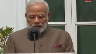 PM Narendra Modi addresses media at Netherlands thumbnail