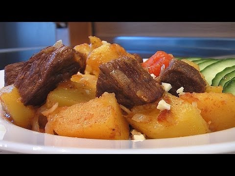 рецепт с фото с жаркое картошкой