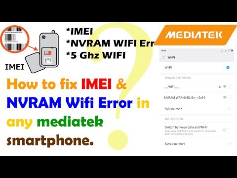 IMEI and NVRAM Problem Fixing Simple and easy step
