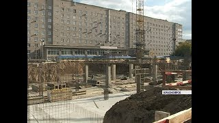 Первую очередь хирургического корпуса Краевой больницы сдадут в декабре 2018 года