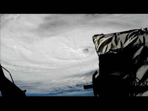 NASA Video Of Hurricane Nicole Over Bermuda, October 13 2016