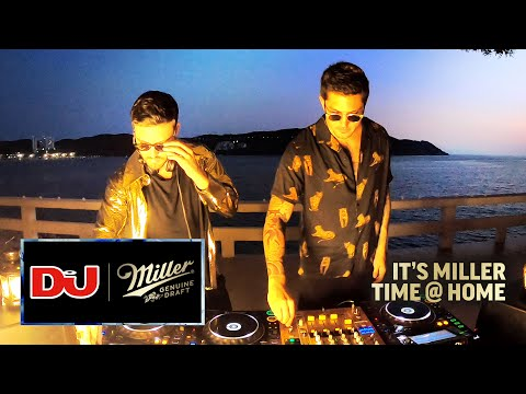 Tom & Collins Live From Their Villa In Acapulco, Mexico For #ITSMILLERTIME @ Home