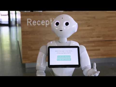 Robot Elvie Pepper - gemeente Leidschendam-Voorburg innoveert