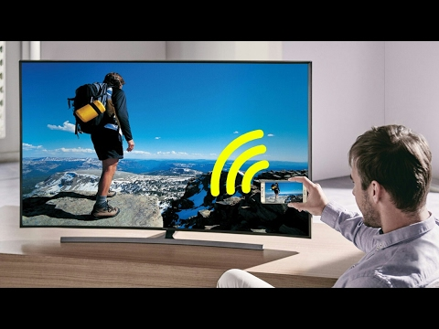 How to view your phone or tablet screen on a TV wireless
