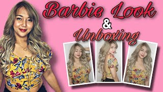 Barbie look and unboxing