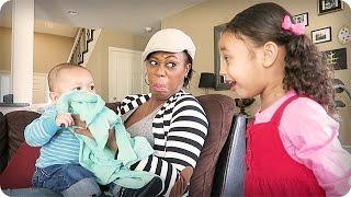 HILARIOUS BABY VOMIT REACTION!!!