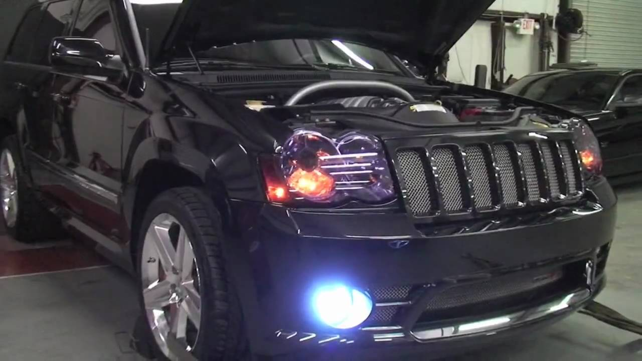Custom Jeep Grand Cherokee >> Jeep SRT8 440 Custom Built for Garrison Hearst - YouTube