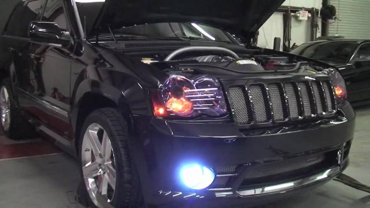 Jeep Srt8 440 Custom Built For Garrison Hearst Youtube