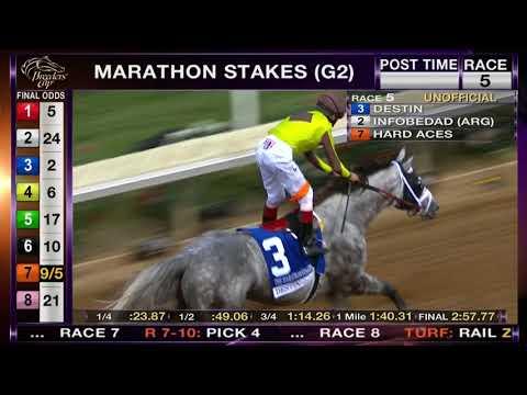 Destin Wins Marathon Stakes (Grade II) Race 5 at Del Mar 11/03/17