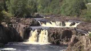 Low Force Falls, Upper Teesdale, County Durham, England - 4th September, 2014