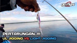 Micro Jig 20gr vs Metal Jig 80gr Mana Yang Dapat Lebih Besar..?? Ultra Light Jigging - Talisayan