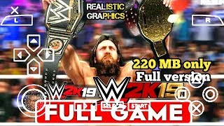 [220 MB] REAL WWE 2K19 PPSSPP ANDROID DOWNLOAD WWE 2K19 PSP MOD | ANDRO TECH CP I