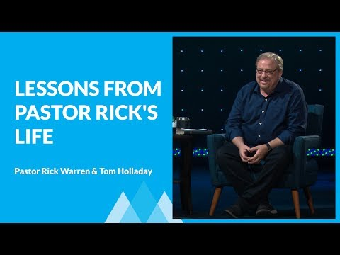 Lessons from 60 Years of Friendship with Jesus with Rick Warren & Tom Holladay Mp3